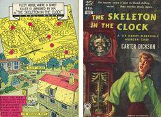 "Dickson ""The Skeleton in the Clock"" full cover Dell Mapback #481; 1951 Bought 6/27/12"