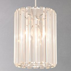 Buy John Lewis & Partners Frieda Easy-to-Fit Crystal Ceiling Shade from our Ceiling Lighting range at John Lewis & Partners. Crystal Ceiling Light, Ceiling Lights, Ceiling Shades, Ceiling Materials, Cluster Lights, I Love Lamp, Sparkling Lights, Strip, Light Fittings