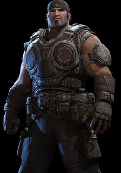 Marcus Fenix brute character feel that main character of Mana will have.