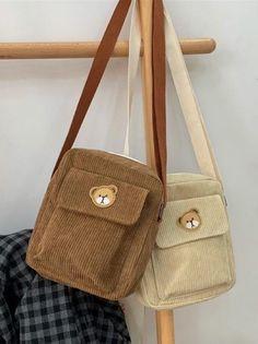 Diy Bags Purses, Cute Purses, Purses And Handbags, Mini Handbags, Brown Bags, Brown Purses, Aesthetic Bags, Cute Bags, Mode Inspiration