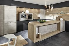We offer a complete german kitchen range with German Kitchen Design. We are kitchen suppliers, call 01753 867888 to request a kitchen catalogue. Kitchen Sets, Kitchen Chairs, Kitchen Decor, Kitchen Cabinet Design, Kitchen Layout, Concrete Interiors, German Kitchen, Concrete Kitchen, Best Kitchen Designs