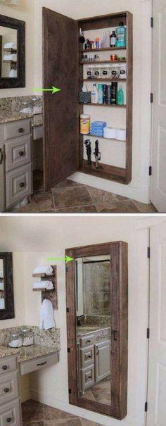 Pallet Bathroom Decor/Storage Ideas