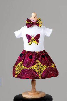 Baby Personalzed gift clothes,Personalized baby girl clothes/Baby girl home coming outfit/kente girls dress/ African baby dress/Baby girl Baby African Clothes, African Dresses For Kids, African Babies, Ladies Day Dresses, Little Girl Dresses, Girls Dresses, African Inspired Fashion, African Fashion, Curvy Girl Fashion