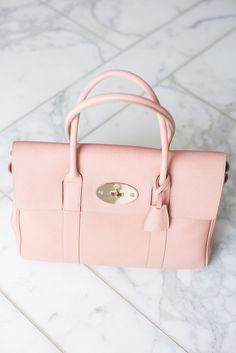 Mulberry Rose - Peony Lim - perfect inspiration to carry your Bagsy staples! Pink Handbags, New Handbags, Luxury Handbags, Fashion Handbags, Fashion Bags, Ladies Handbags, Vintage Handbags, Designer Handbags, Bags Online Shopping