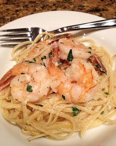 Shrimp Fettuccine / Pasta / Alfredo Sauce
