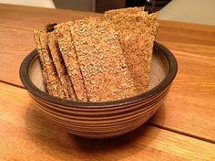 Evas Køkken: Glutenfri sprøde Chiafrø knækbrød
