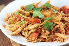 Pin for Later: 25 Slow-Cooker Latin Recipes That Will Have You Counting the Minutes Until Dinner Mexican Chicken Get the recipe: Mexican chicken