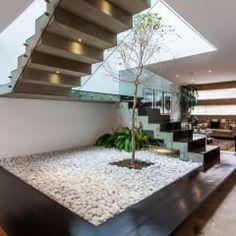 Escalera 2: Pasillo, hall y escaleras de estilo  por aaestudio