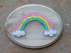 Rainbow String Art- Nursery Art