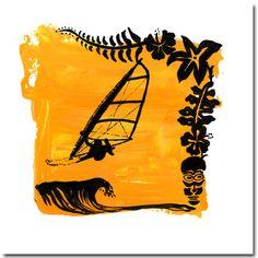 windsurfing art