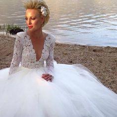 Gorgeous #BERTA bride from Greece <3
