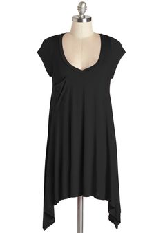 A Crush on Casual Top in Black, @ModCloth