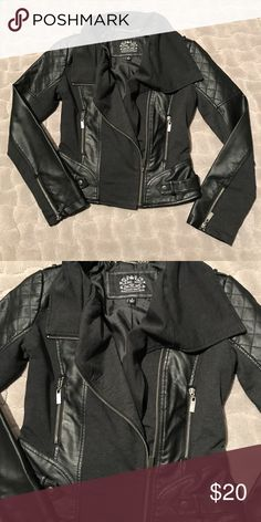Blanc Noir Biker Style Jacket LIKE NEW Blanc Noir Biker Style Jacket LIKE NEW Blanc Noir Jackets & Coats