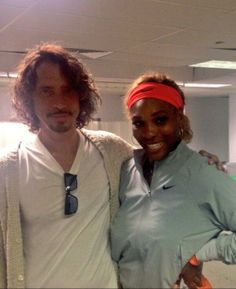 Rena! ... Via @Christopher Cornell Post match, right after @Serena Williams destroyed the first round of the Sony Open.