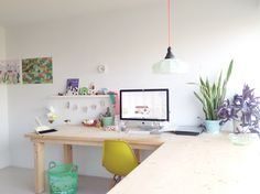 <3 an awesome workspace! #desk #office