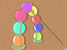 3 Ways to Make a Beach Ball Party Arch - wikiHow