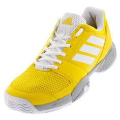 on sale 19367 53e31 The newnbspadidasnbspJuniors39 Barricade Club Tennis Shoenbspis crafted  with technical aggressive juniors players in mind The Barricade