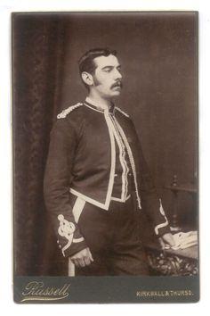 Soldiers of the Queen - Lt. William Davidson Adams - Caithness Artillery Volunteers