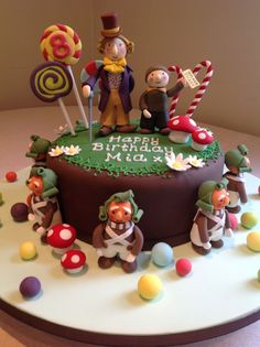 Charlie and the Chocolate Factory Cake by Canami Bespoke Cakes & Patisseries