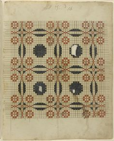 Philadelphia Museum of Art - Collections Object : Weaving Pattern Manuscript