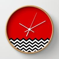 Wall Clocks by Welcome To Twin Peaks | Society6