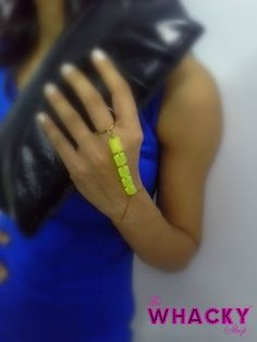 Neon Bracelet (Code 11) ;    Price - Rs 300  (The Whacky Shop)
