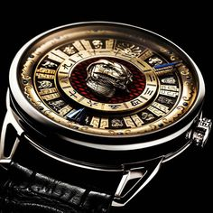 it is no secret how much watches like that can cost. Stylish Watches, Luxury Watches For Men, Cool Watches, Old Summer Palace, Water Clock, Zodiac Watches, Army Watches, Hand Engraving, Fashion Watches