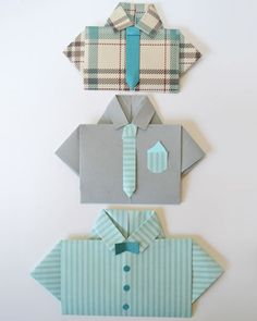diy Fathers Day shirt card