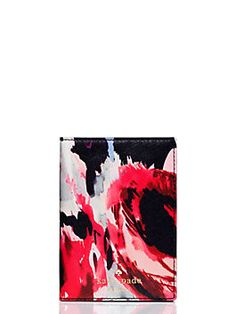 cedar street hazy floral passport holder by kate spade new york