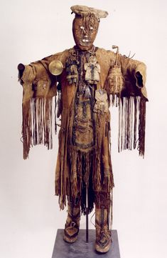 """Shaman's Ensemble 18th Century Evenks People, Siberia Collection of the University of Göttingen via the VCM """