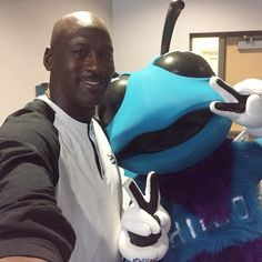 Michael Jordan took over the Hornets' social media accounts, shared selfies, photobombed, was hip