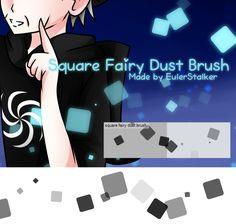 + Square Fairy Dust Brush   For MS5/CSP + by Serket-XXI