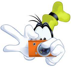 Goofy Take Photo