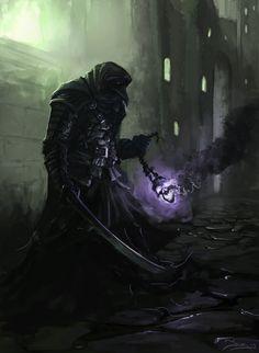 Shiggy, Disciple of The Raven Queen by Robjenx.deviantart.com on @deviantART