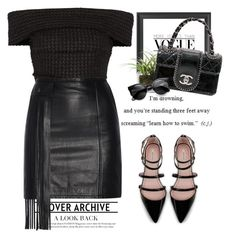 """- Cover Archive -"" by lolgenie ❤ liked on Polyvore featuring Dot & Bo, Proenza Schouler, Threshold, Tamara Mellon, Chanel and Zara"