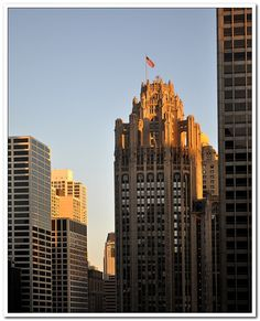 A new day begins - Chicago, Illinois