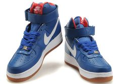 quality design b6ad5 76f1d Nike Air Force Ones High Tops  Nike Air Force Ones High Tops(blue