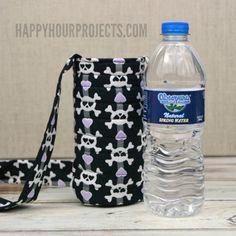 DIY water bottle sling