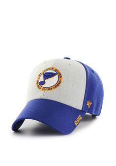 wholesale dealer 4be29 b52d9  47 St Louis Blues Mens Blue Beta MVP Adjustable Hat St Louis Blues, Blue