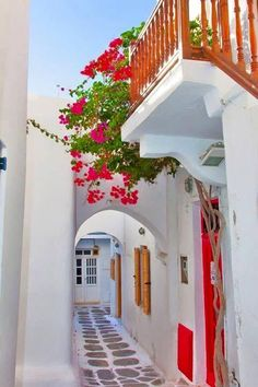 Yoga Retreats Mykonos How pretty! Alley of Hora, Mykonos. Alley of Hora, Mykonos. Places Around The World, Oh The Places You'll Go, Places To Travel, Travel Destinations, Places To Visit, Around The Worlds, Wonderful Places, Beautiful Places, Wonderful Time