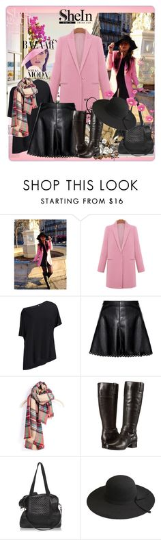 """Shein contest"" by lila2510 ❤ liked on Polyvore featuring Prada, Bela, Classique and Bandolino"