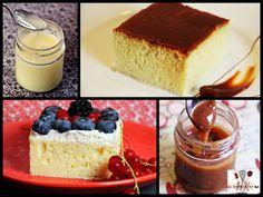 """Trilece oder Tres leches (""""drei Milchsorten"""") ist eine traditionelle Süßspeise aus Albanien, Kosovo und einigen Ländern Zentral- und Südamerikas. Es ist ein einfacher Biskuit- oder Rührteig, der mit drei Milchsorten, meist Vollmilch, gezuckerte Kondensmilch und Sahne, getränkt wird. Als Topping verwendet man eine Karamellcreme oder Sahne (mit Früchten). Dieses Rezept umfasst alle Optionen inkl. einem Rezept für selbstgemachte Karamellcreme und gezuckerte Kondensmilch, da diese meist nur in…"""