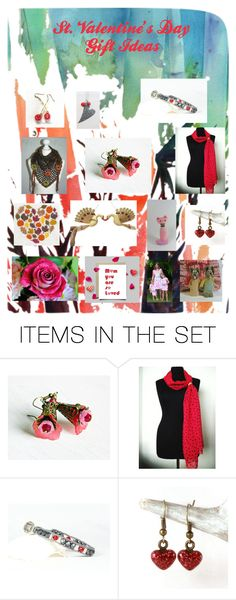 """""""St. Valentine's Day Gift Ideas"""" by claudeswoodcarving ❤ liked on Polyvore featuring art, integrityTT and EtsySpecialT"""