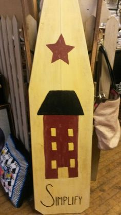 An ironing board I painted.