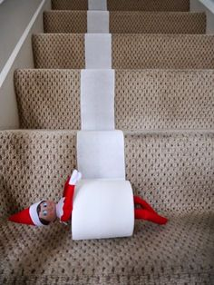 Over 31 Family Christmas Tradition Ideas to Start Making Memories This Year!, 31 Family Christmas Tradition Ideas to Start Making Memories This Year! - Sentimental ideas to make your holiday special - with recipes, resource. Album Design, L Elf, Elf Auf Dem Regal, Awesome Elf On The Shelf Ideas, Elf On The Self, Xmas Elf, Naughty Elf, Hiding Spots, Hiding Places