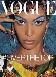 Italian Vogue March 2012 Cover