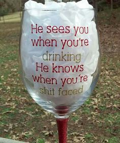 New funny christmas decorations wine bottles 43 Ideas Wine Glass Sayings, Wine Glass Crafts, Wine Bottle Crafts, Wine Bottles, Wine Quotes, Bottle Art, Wine Corks, Merry Christmas, Christmas Diy