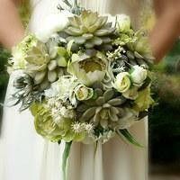Hochzeit brautsträuße La Green garden von wandadesign auf DaWanda.com