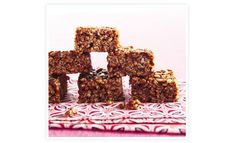 a healthier version on chocolate rice crispie treats.and other awesome looking small bites from goop Chocolate Rice Crispy Treats, Chocolate Rice Krispies, Healthy Chocolate, Rice Krispie Treats, Raw Chocolate, Recipes Appetizers And Snacks, Healthy Dessert Recipes, Desserts, Healthy Rice