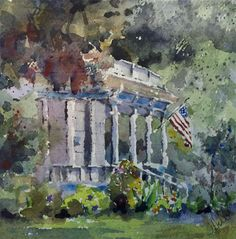 A beautiful painting by Julie Hill